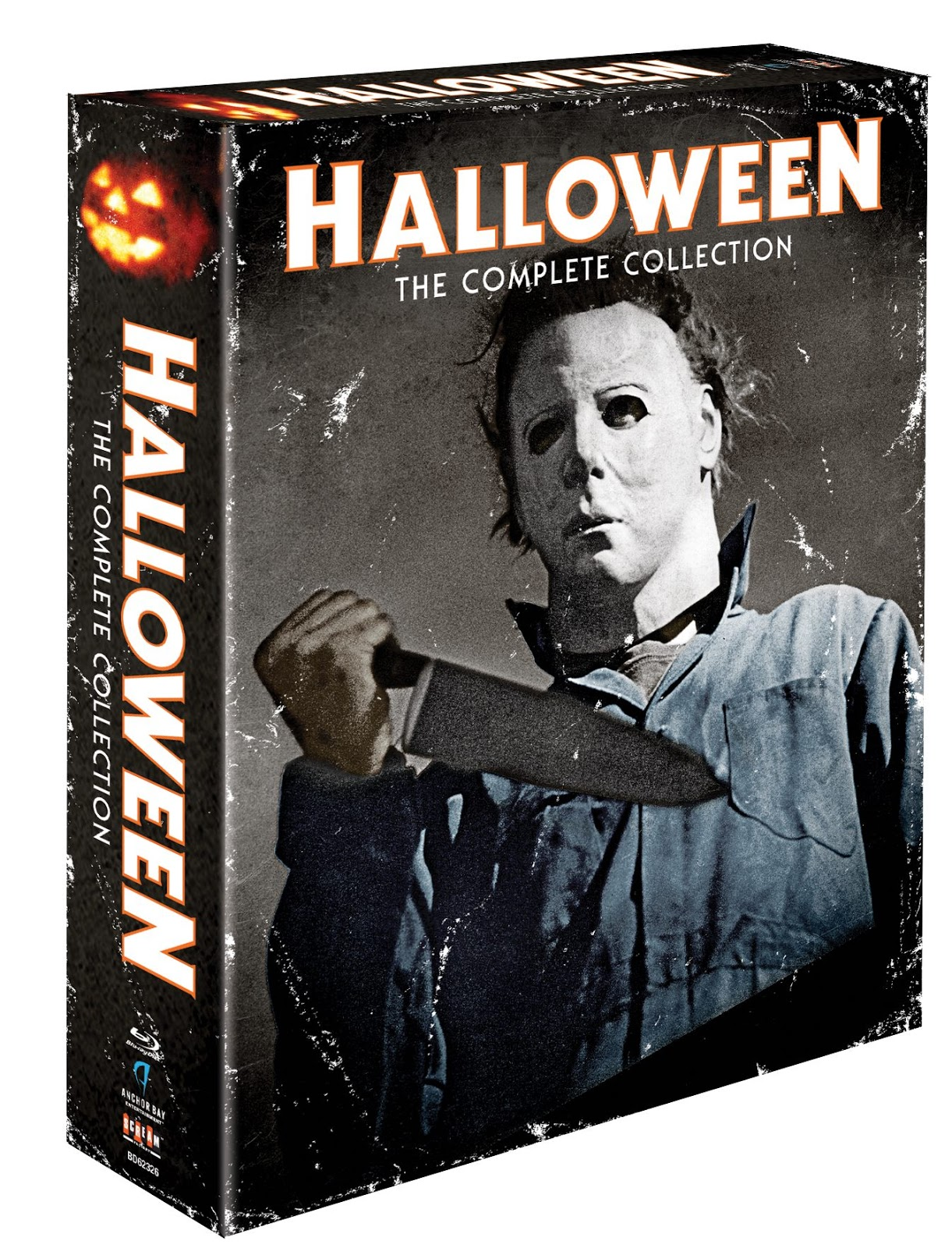 the horrors of halloween: halloween the complete collection blu-ray