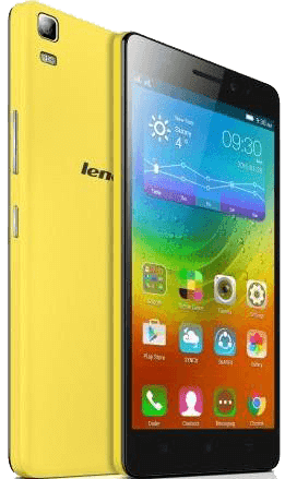 lenovo A7000 yellow