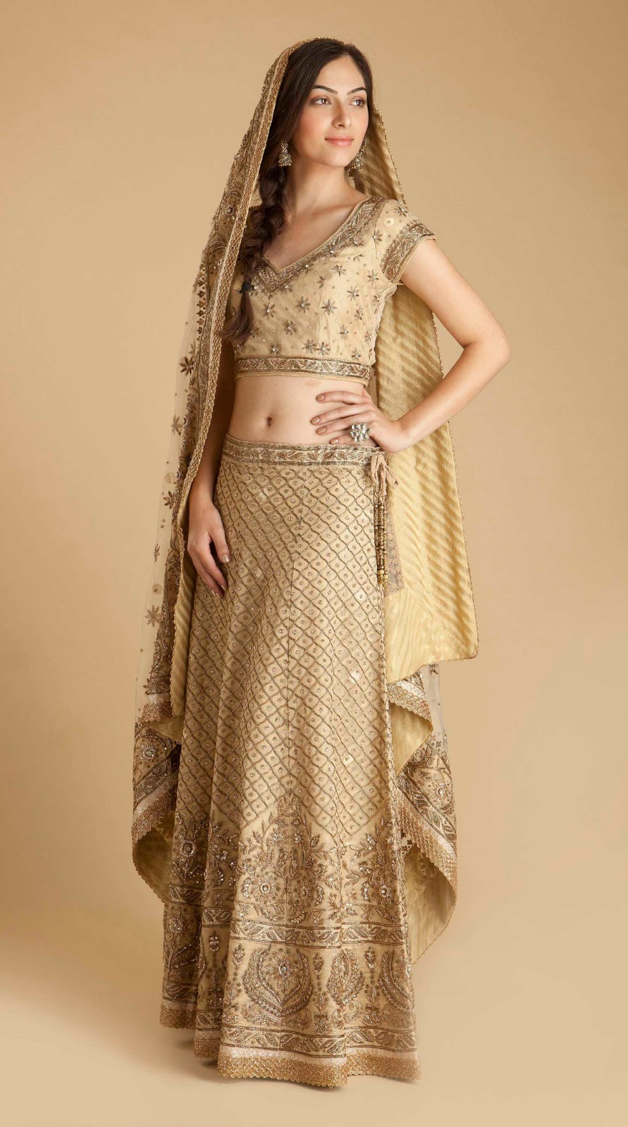 Indian bridal dresses collection 2013 2014 traditional for Indian traditional wedding dress