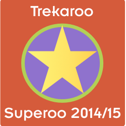 Trekaroo Superoo Mel's Badge