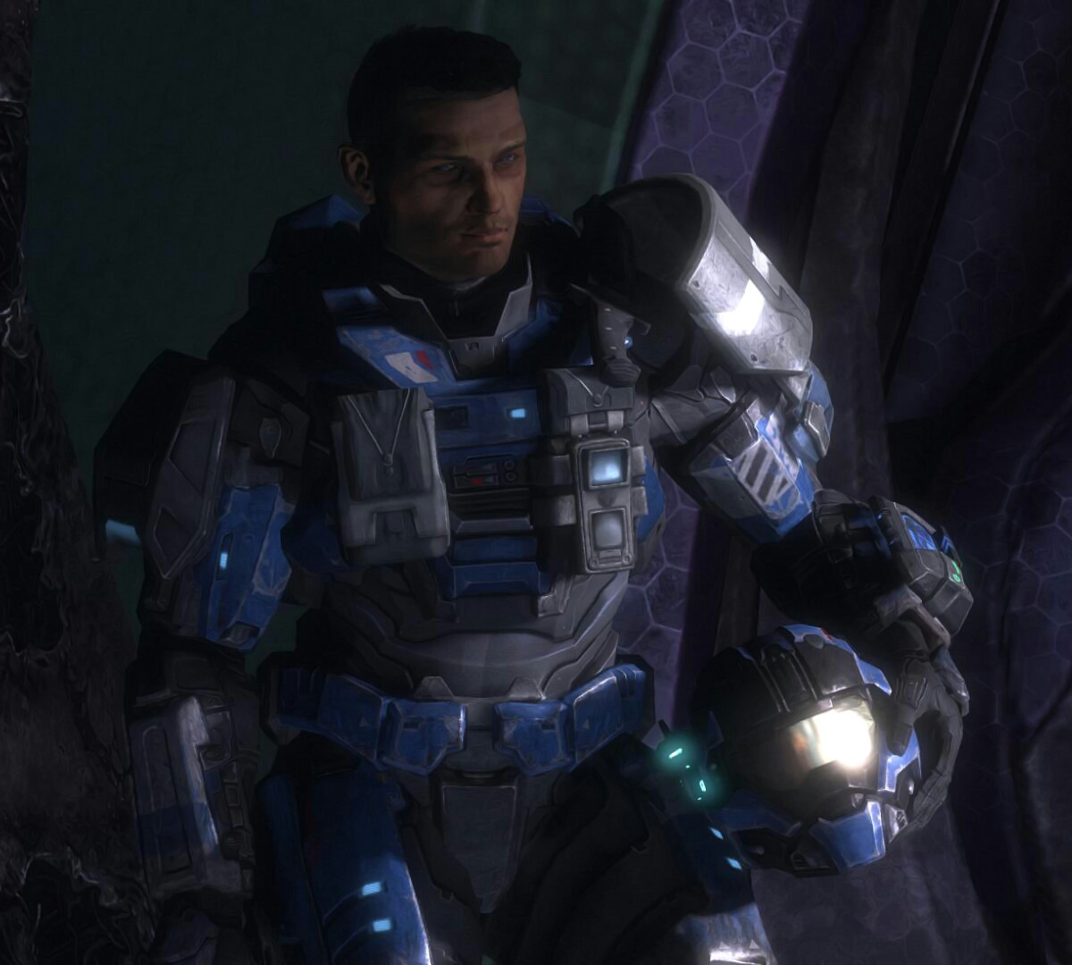 Carter - Series 5 Halo Reach Action Figure Review