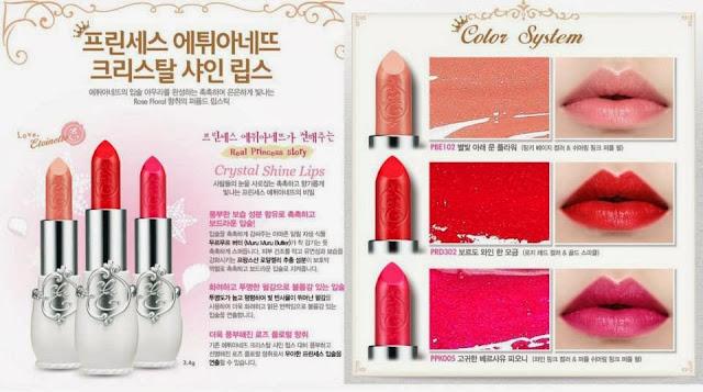 princess etoinette limited, jual etude murah, jual etude semarang, lipstick etoinette