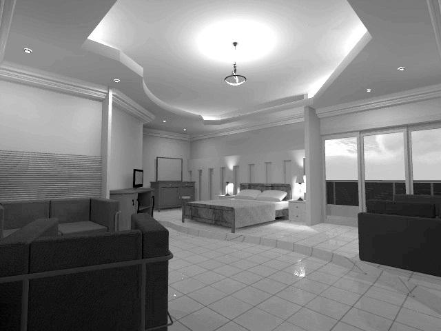 Interiores 3 propuesta dise o interior de dos for Diseno de habitacion de hotel