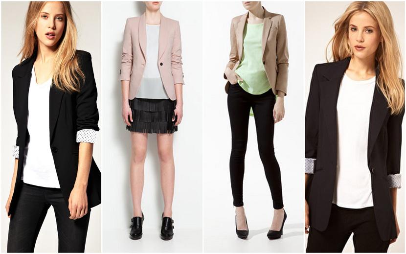 Da sinistra: giacca asos 73 € - giacca zara 80 € - giacca zara 50