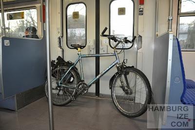 Fahrradmitnahme in der Hamburger S-Bahn