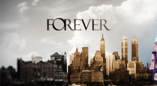 Poster oficial de la serie de drama y ciencia ficcion Forever 2014 | Ximinia