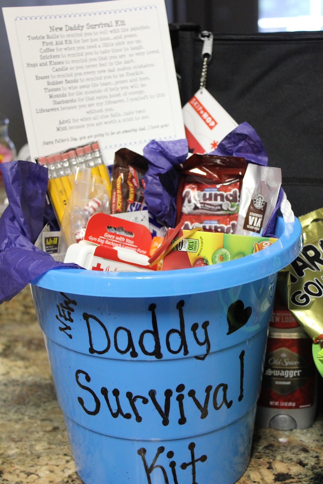 simply made with love daddy survival kit hospital survival kit