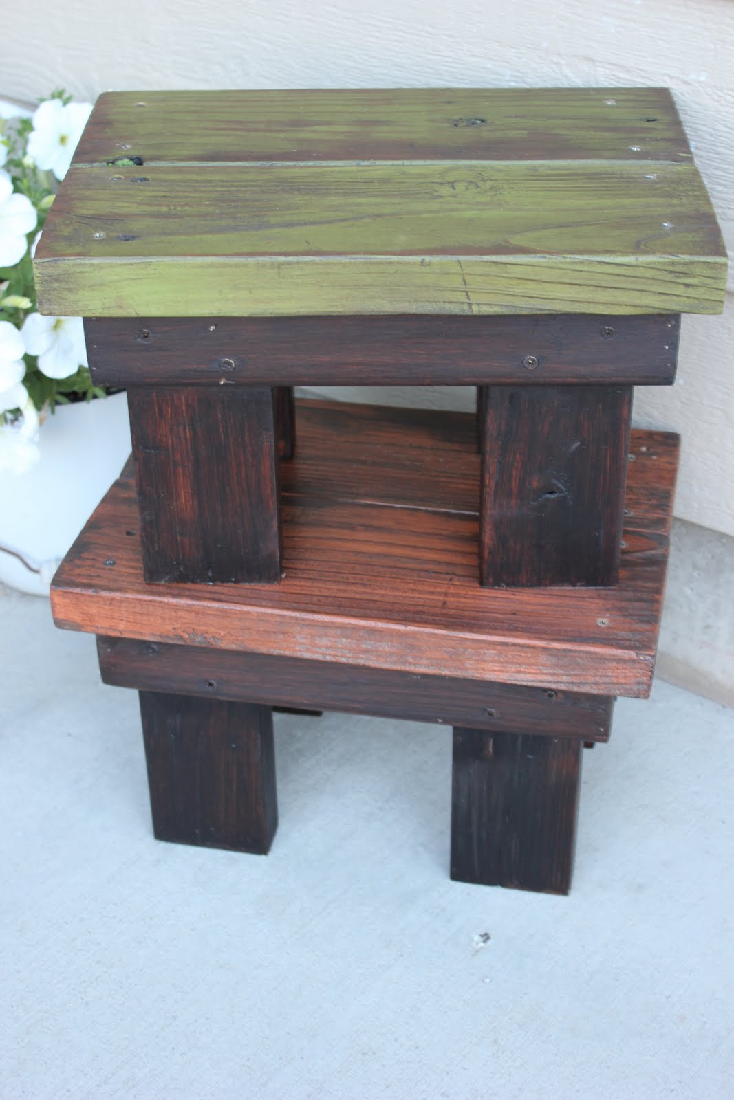Reclaimed Wood Stool Tutorial Bec4 Beyondthepicketfenceblogspot