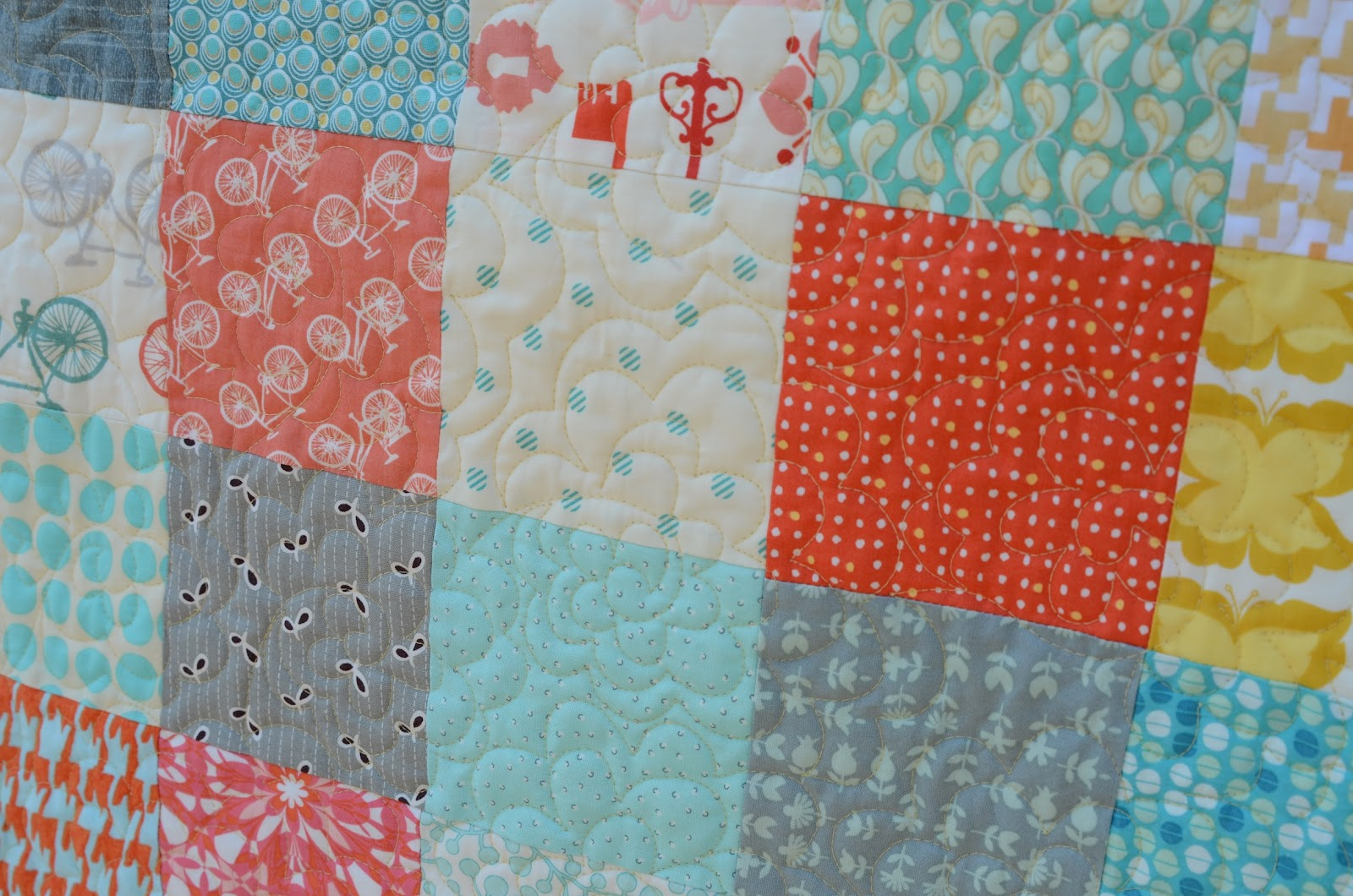 Hyacinth Quilt Designs: A Simple Patchwork quilt : square patchwork quilt - Adamdwight.com