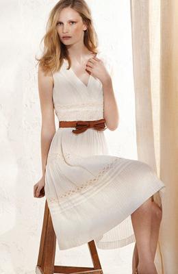 vestido primavera verano 2011 Massimo Dutti