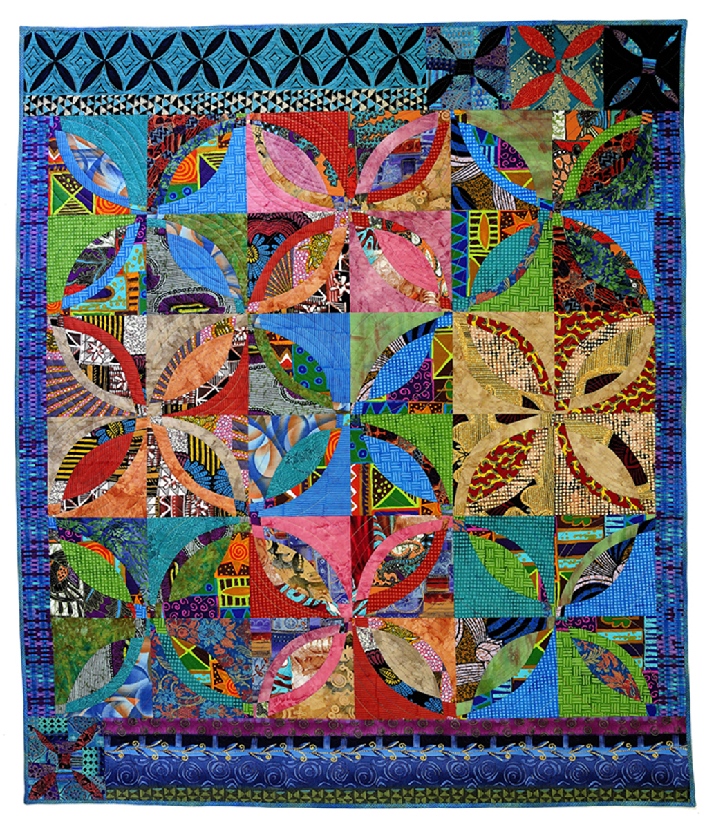 Double Wedding Ring Quilt Pattern: Quilt Inspiration: Wedding Rings Part 8: Fun Easy Designed