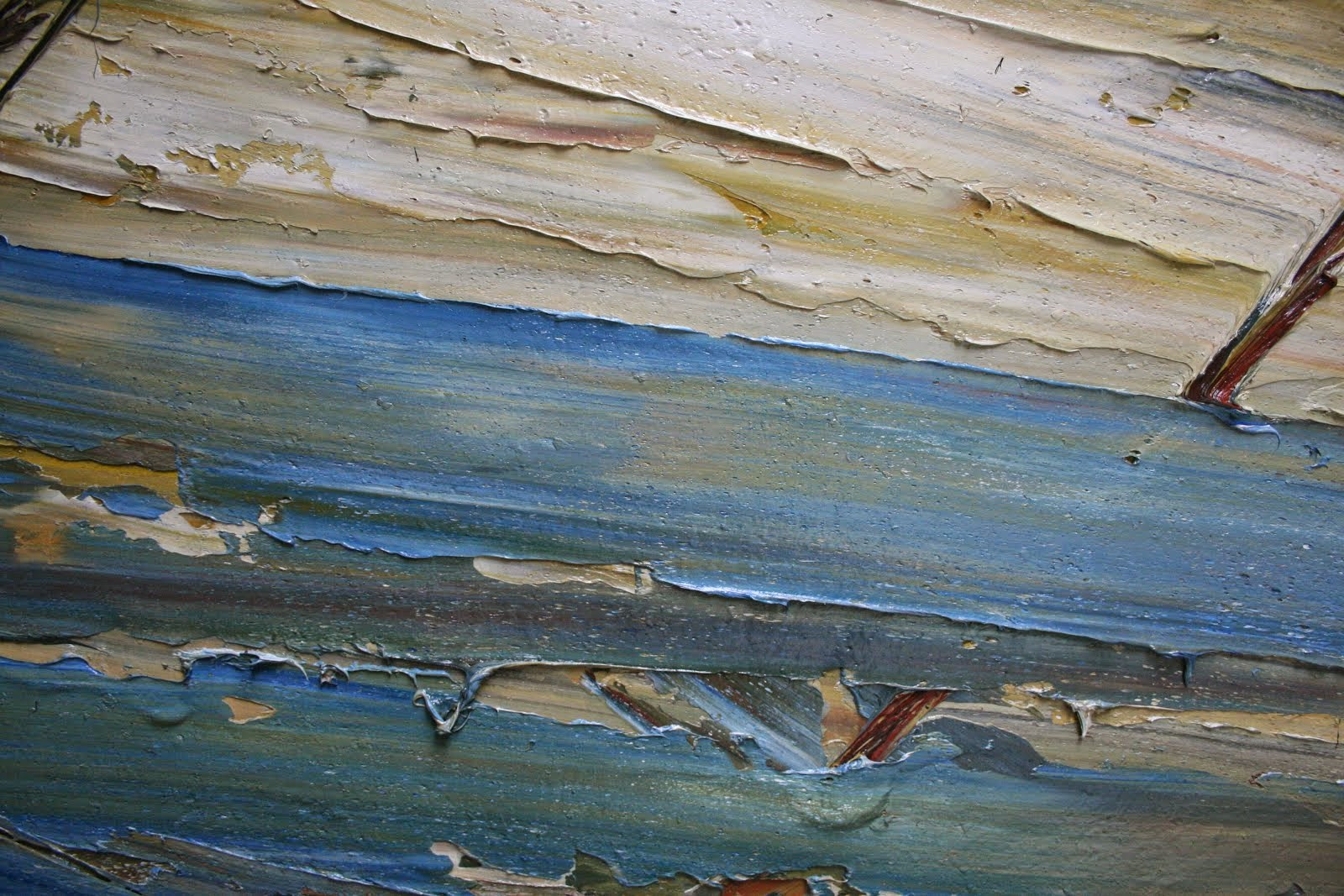Detail of his work