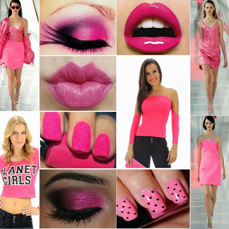 O poder está no rosa - A cor da moda