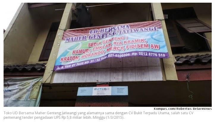 CV Bodongan bikinan DPRD DKI Jakarta Part 8 Jakarta - CV Bukit Terpadu Utama