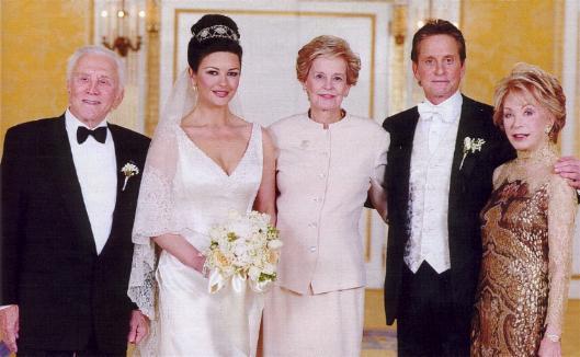 Red Carpet Wedding Catherine Zeta Jones And Michael