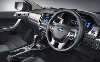 2016 Ford Ranger Wildtrak Interior