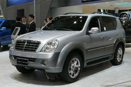 Exotics In India Mahindra And Ssangyong S Rexton Unveiled