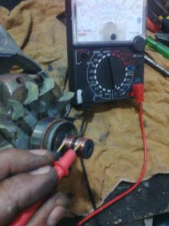 testando o rotor
