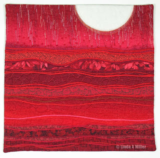 Red Striations by Linda A. Miller 2013