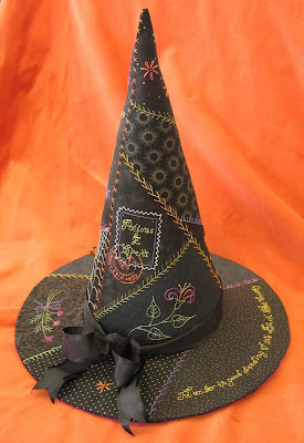 Crabapple Hill halloween embroidery