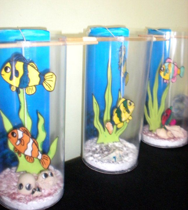 Kiddos Crafts Diy Aquarium