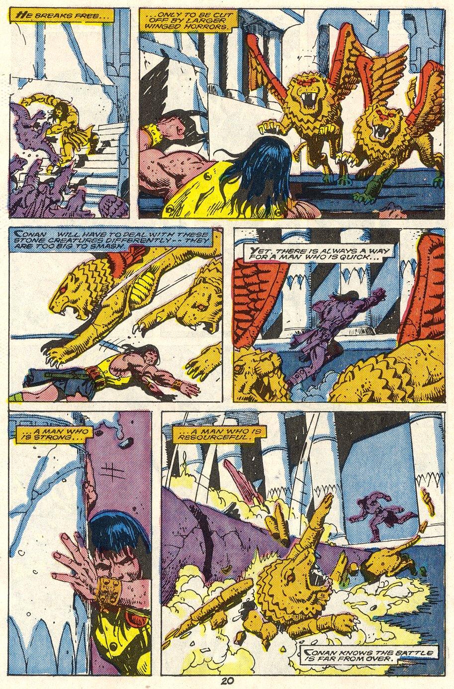 Conan the Barbarian (1970) Issue #214 #226 - English 17