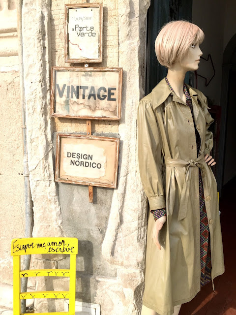 a Porta Verde, loja, shop, tienda, vintage, Aveiro, Portugal