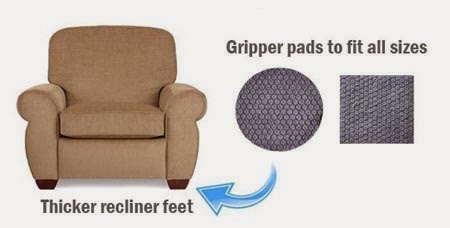 How To Stop Furniture Sliding On Hardwood And Tile Floors Floor Grippers For Recliners And Sofas