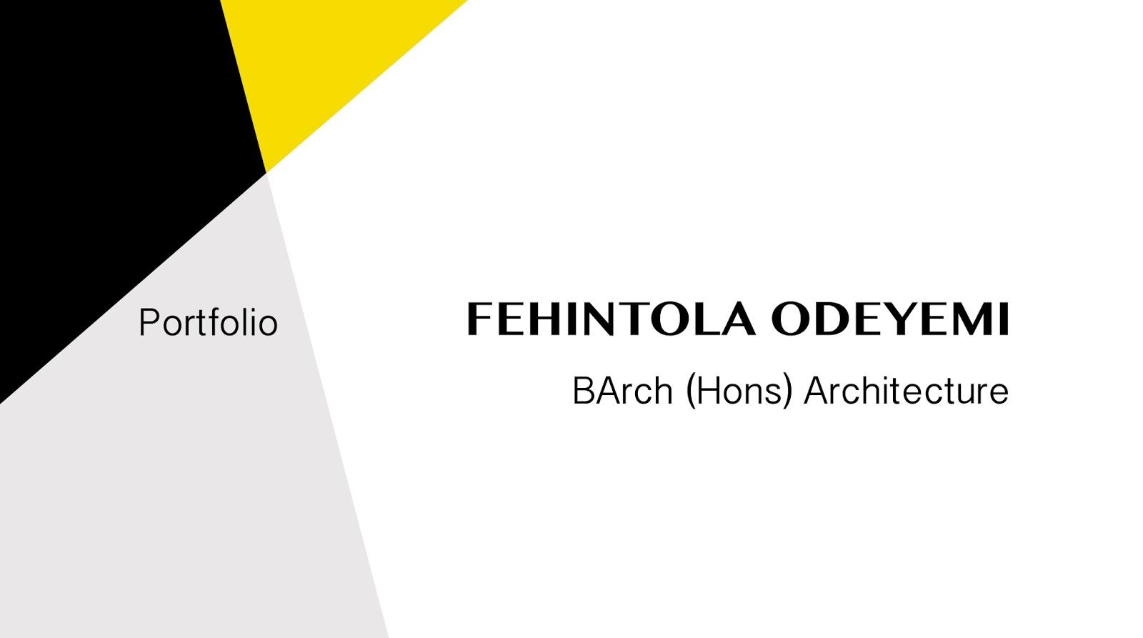 Architecture Portfolio Cover Viewing Gallery