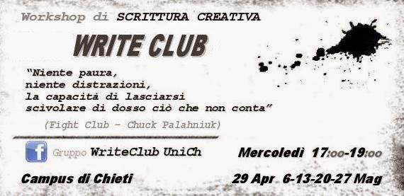 ...il WRITE CLUB arriva all'UniCh!