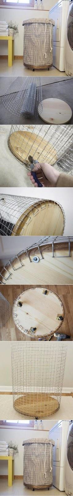 DIY Laundry basket