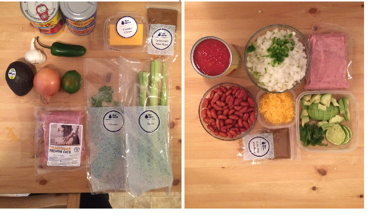 blue apron chili