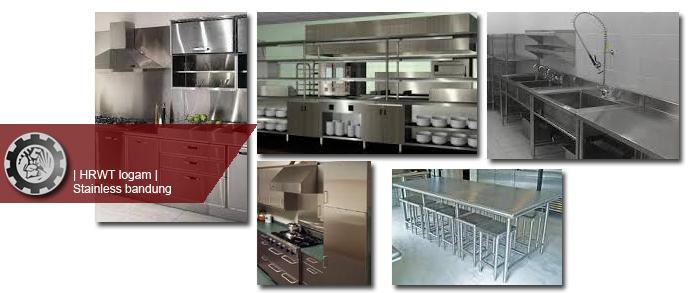 Kitchenset Dapur Stainless Steel Stainless Bandung Hrwt Logam