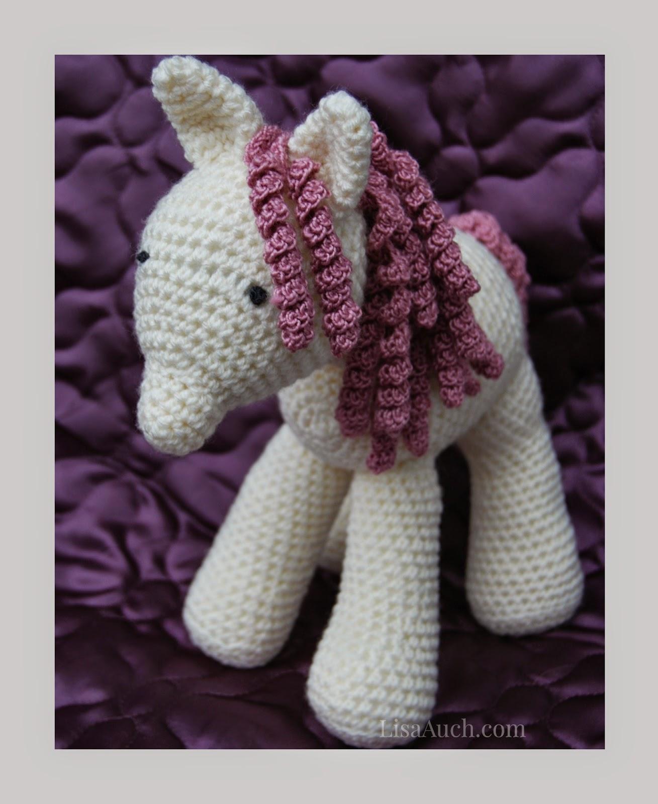 Free Crochet Horse Pattern - Crochet a My Little Pony | Free Crochet ...