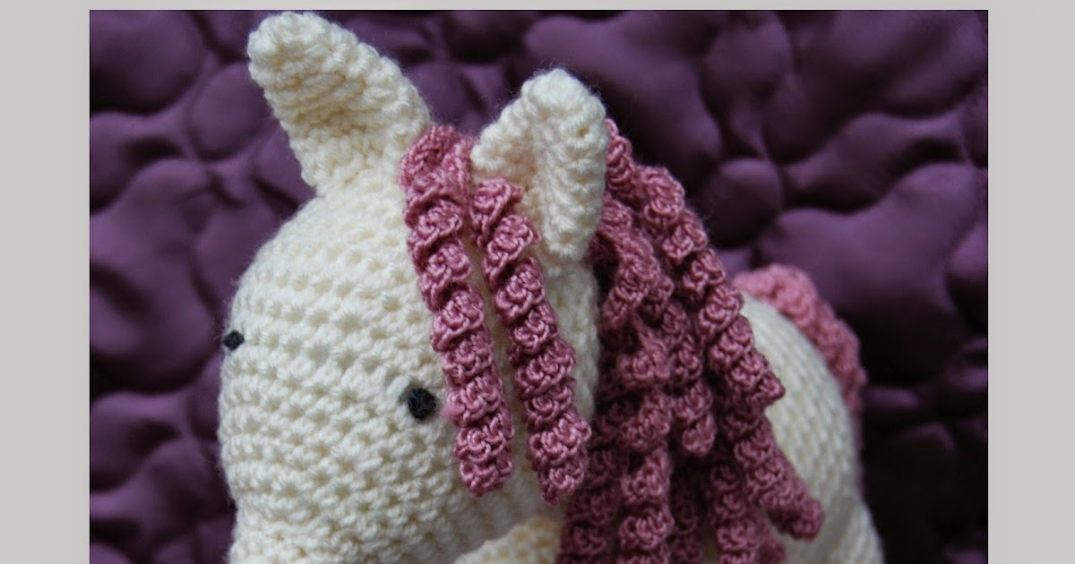 Crochet Horse Pattern Horse In Sunset X Stitch Comfy Project On