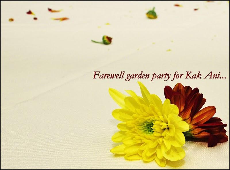 Farewell Garden Party