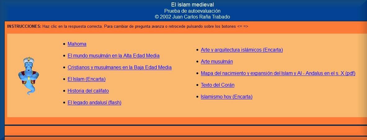 http://www.juanjoromero.es/eso/2eso/islammedieval.htm