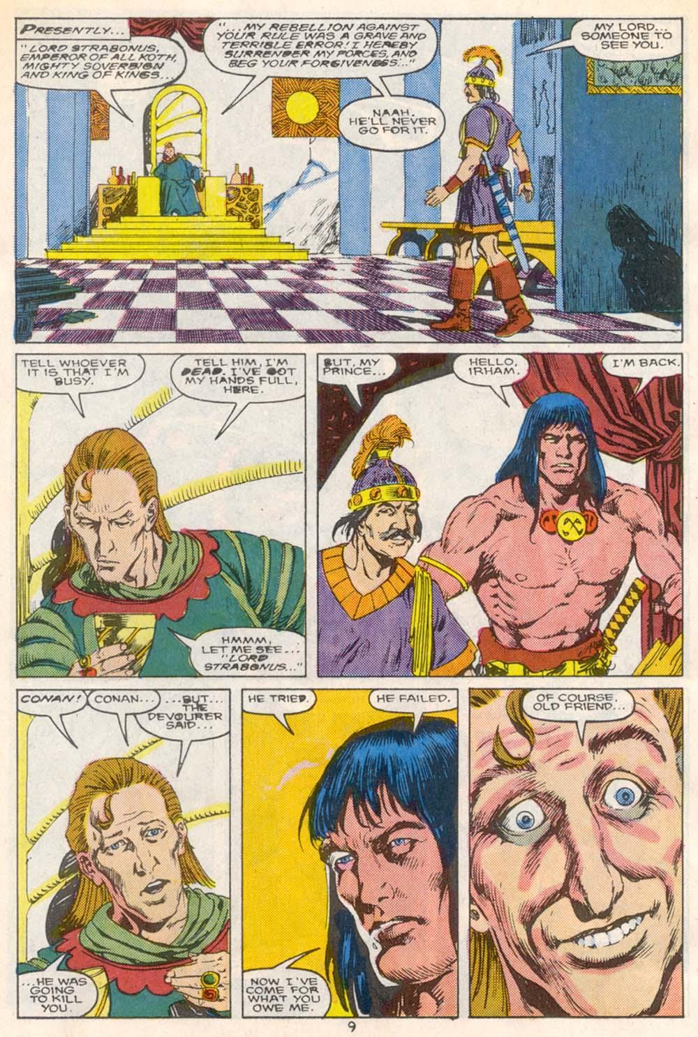 Conan the Barbarian (1970) Issue #209 #221 - English 8