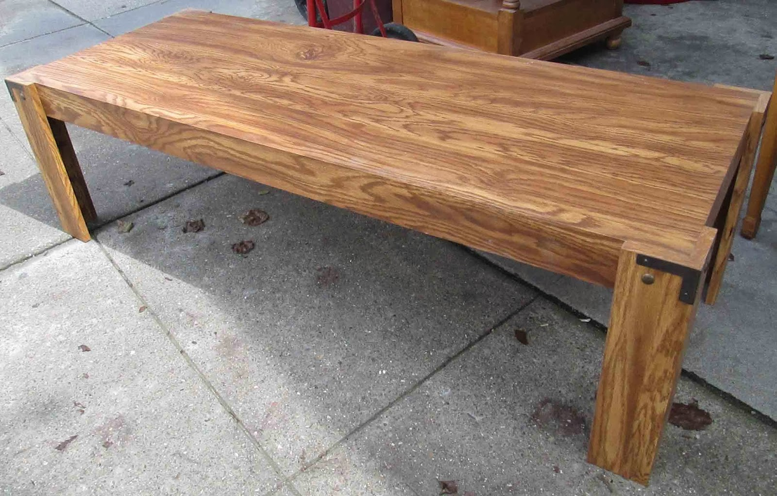Uhuru Furniture Collectibles Sold Long Sturdy Coffee Table 15