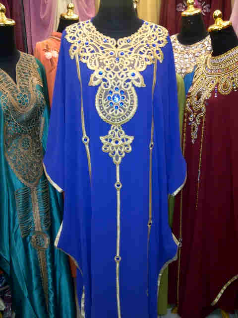 Belanja online baju gamis kaftan style maroko sifon india Baju gamis india terbaru