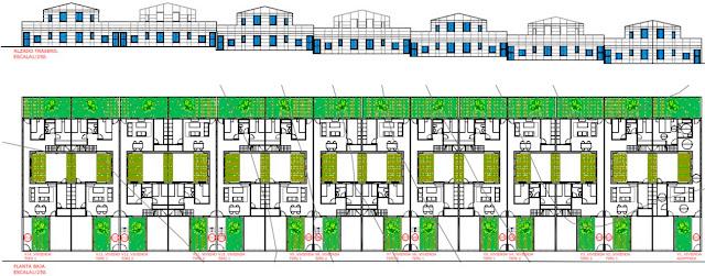 Planta 14 Vpo en Villar del Rey- Cáceres por sf23 arquitectos segovia