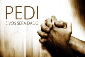 Faça o Seu Pedido de Oração ou Agradecimento Aqui: