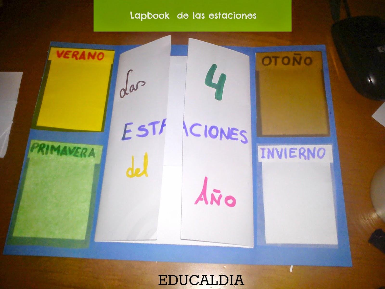 homeschooling, lapbook