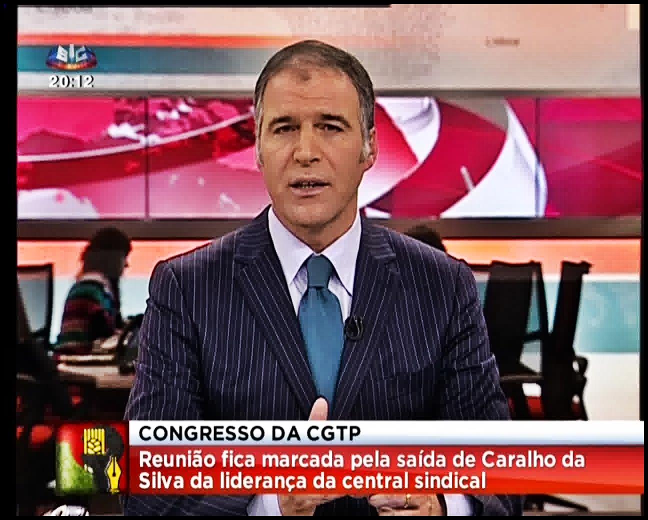 SAFEPLACE52 : SIC Noticias... Com o novo acordo ortográfico Carvalho ...