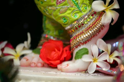 Lotus Feet of Sri Krishna Vrindavana Chandra - Photos, Glimpses, Darshan - RVCTD