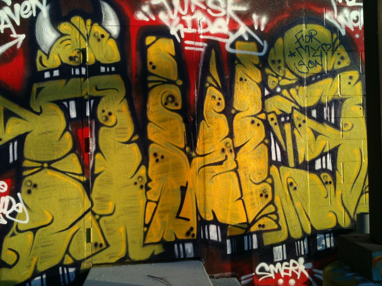 MAINTAIN LA: More North East L.A. Graffiti