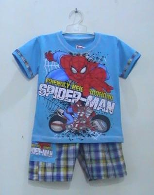 busana kartun spiderman
