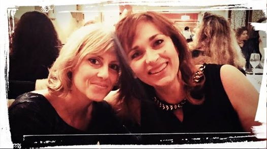 Mª Cruz Mingo y Beatriz Fuebntes