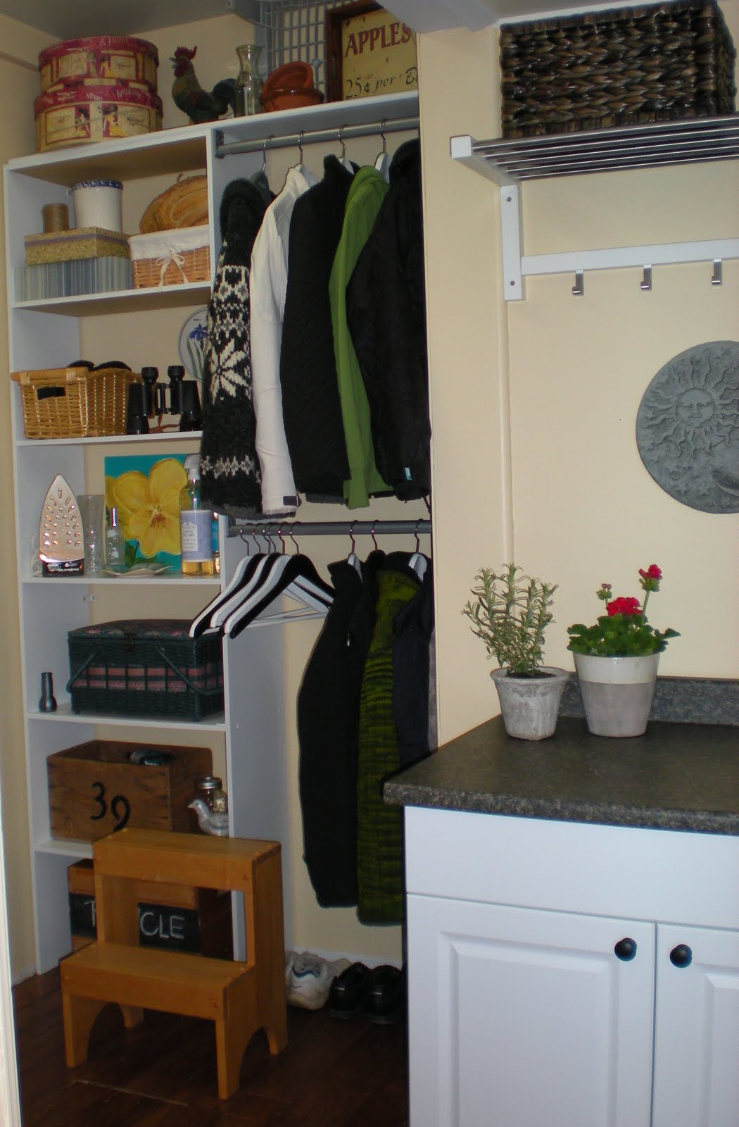 Designdreams by anne laundry storage solutions my Storage solutions for small laundry rooms