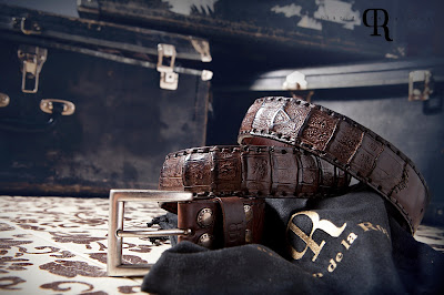 Plácido de la Rosa, cinturones, hecho a mano, Made in Spain,